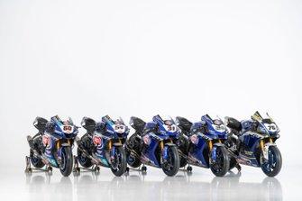 Line up delle moto Yamaha