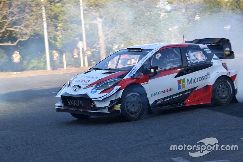 Yaris WRC demorun
