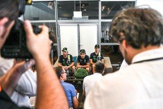 #46 Monster VR46 Kessel Ferrari 488 GT3: Valentino Rossi, Luca Marini, Alessio Salucci
