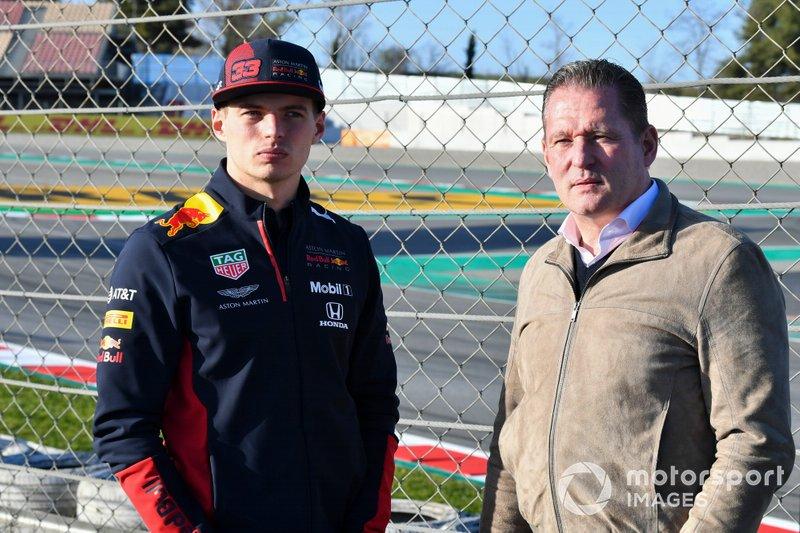Max Verstappen, Red Bull Racing, e il padre Jos Verstappen