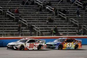 Erik Jones, Joe Gibbs Racing, Toyota Camry Sport Clips, J.J. Yeley, Rick Ware Racing, Ford Mustang Factor One Source Pharmacy