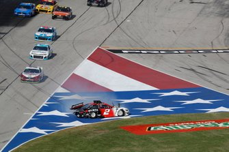 Brad Keselowski, Team Penske, Ford Mustang Wurth, crash