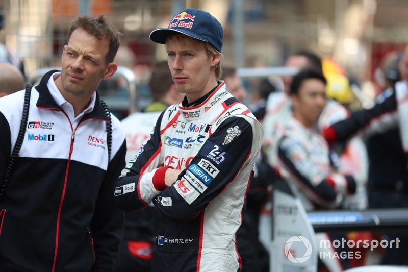 #8 Toyota Gazoo Racing Toyota TS050: Brendon Hartley, Alexander Wurz