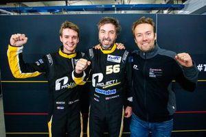 Pole sitter GTE-AM, #56 Team Project 1 Porsche 911 RSR: Egidio Perfetti, Matteo Cairoli, David Heinemeier Hansson