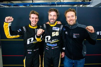 Pole position GTE-AM, #56 Team Project 1 Porsche 911 RSR: Egidio Perfetti, Matteo Cairoli, David Heinemeier Hansson