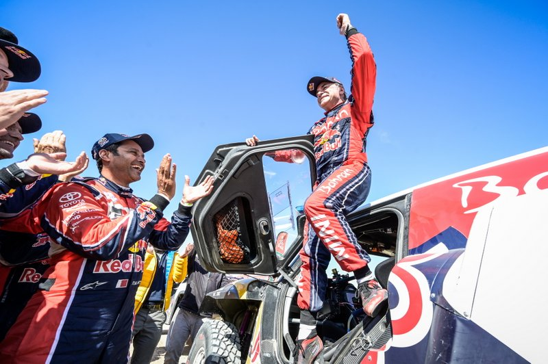 Ganador #305 JCW X-Raid Team: Carlos Sainz with #305 JCW X-Raid Team: Carlos Sainz