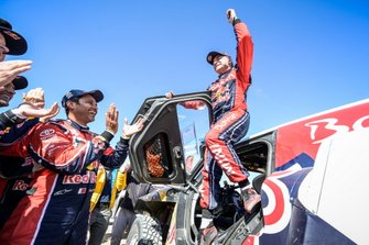 Winner #305 JCW X-Raid Team: Carlos Sainz with #305 JCW X-Raid Team: Carlos Sainz