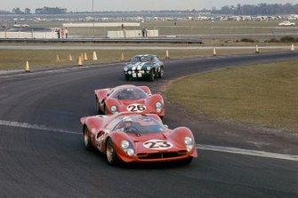 Lorenzo Bandini, Chris Amon, Ferrari