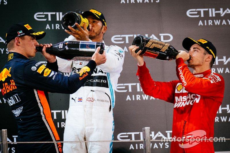 Tercero en el GP de Abu Dhabi