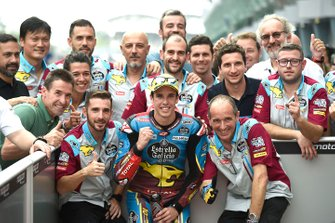 Ganador de la pole Alex Marquez, Marc VDS Racing
