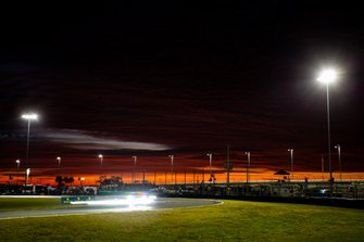 Renn-Action bei Sonnenaufgang in Daytona