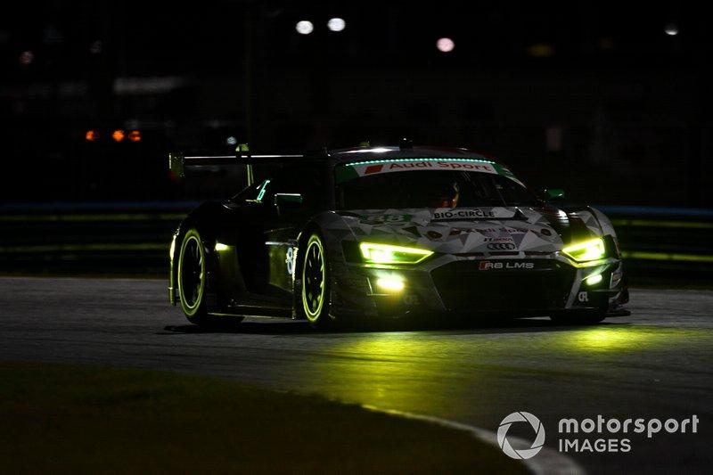#88 WRT Speedstar Audi Sport Audi R8 LMS GT3, GTD: Mirko Bortolotti, Rolf Ineichen, Daniel Morad