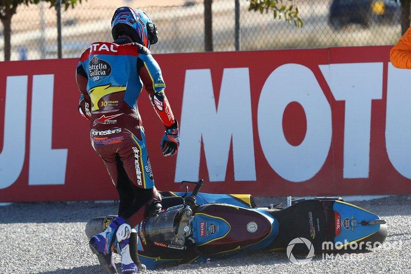 Alex Márquez, Marc VDS Racing tras su caída