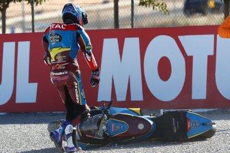 Alex Marquez, Marc VDS Racing après sa chute
