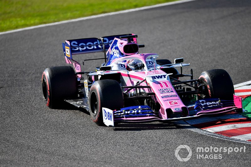 8 - Sergio Perez, Racing Point RP19