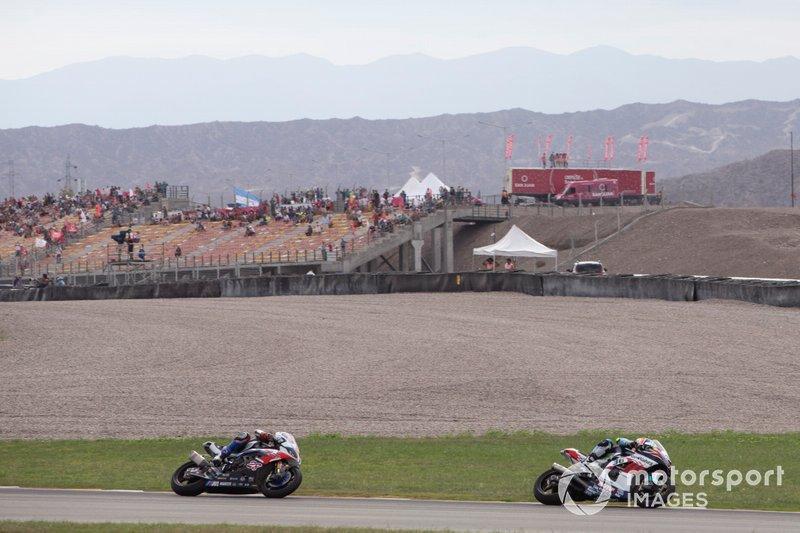 Leandro Mercado, Orelac Racing Team, Markus Reiterberger, BMW Motorrad WorldSBK Team