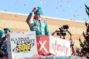 Race Winner Brandon Jones, Joe Gibbs Racing, Toyota Supra