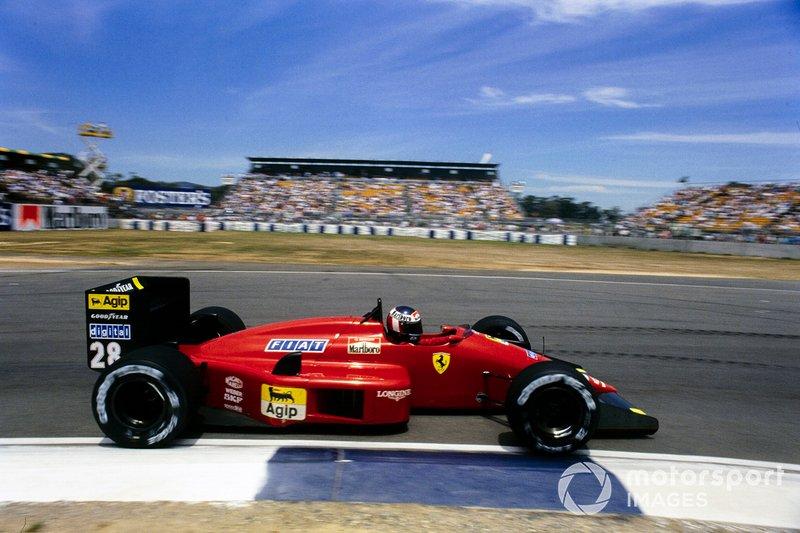 1987 Gerhard Berger, Ferrari