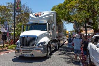 Tickford Racing transporter