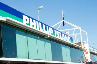 Pit building al GP d'Australia