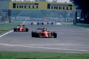 Alain Prost, Ferrari, Nigel Mansell, Ferrari