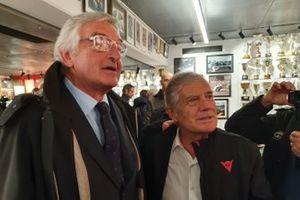 Lino Dainese e Giacomo Agostini