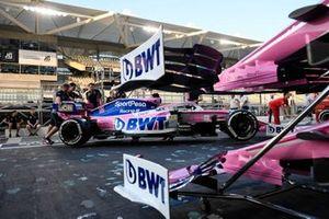 La Racing Point RP19 di Sergio Perez