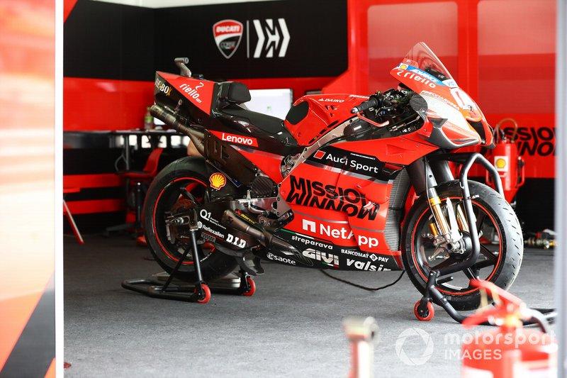 Мотоцикл Андреа Довициозо, Ducati Team
