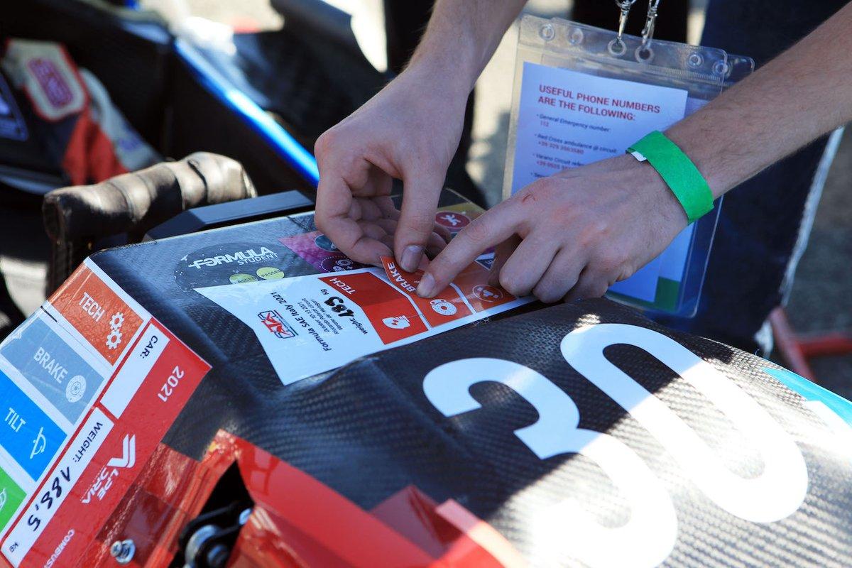 Formula SAE Italy 2021: Le verifiche tecniche
