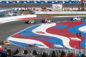 NASCAR-Action auf dem Roval des Charlotte Motor Speedway