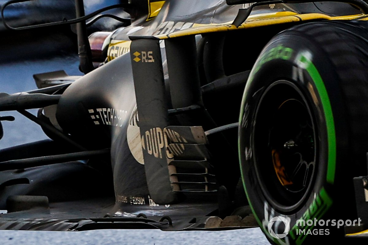 Renault F1 Team R.S.20 sidepods detail