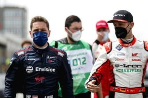 Robin Frijns, Envision Virgin Racing, Rene Rast, Audi Sport ABT Schaeffler, on the grid