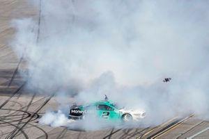 Race winner Brad Keselowski, Team Penske, Ford Mustang