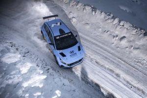 Craig Breen, Oliver Solberg, Hyundai Motorsport, Hyundai i20 N Rally2