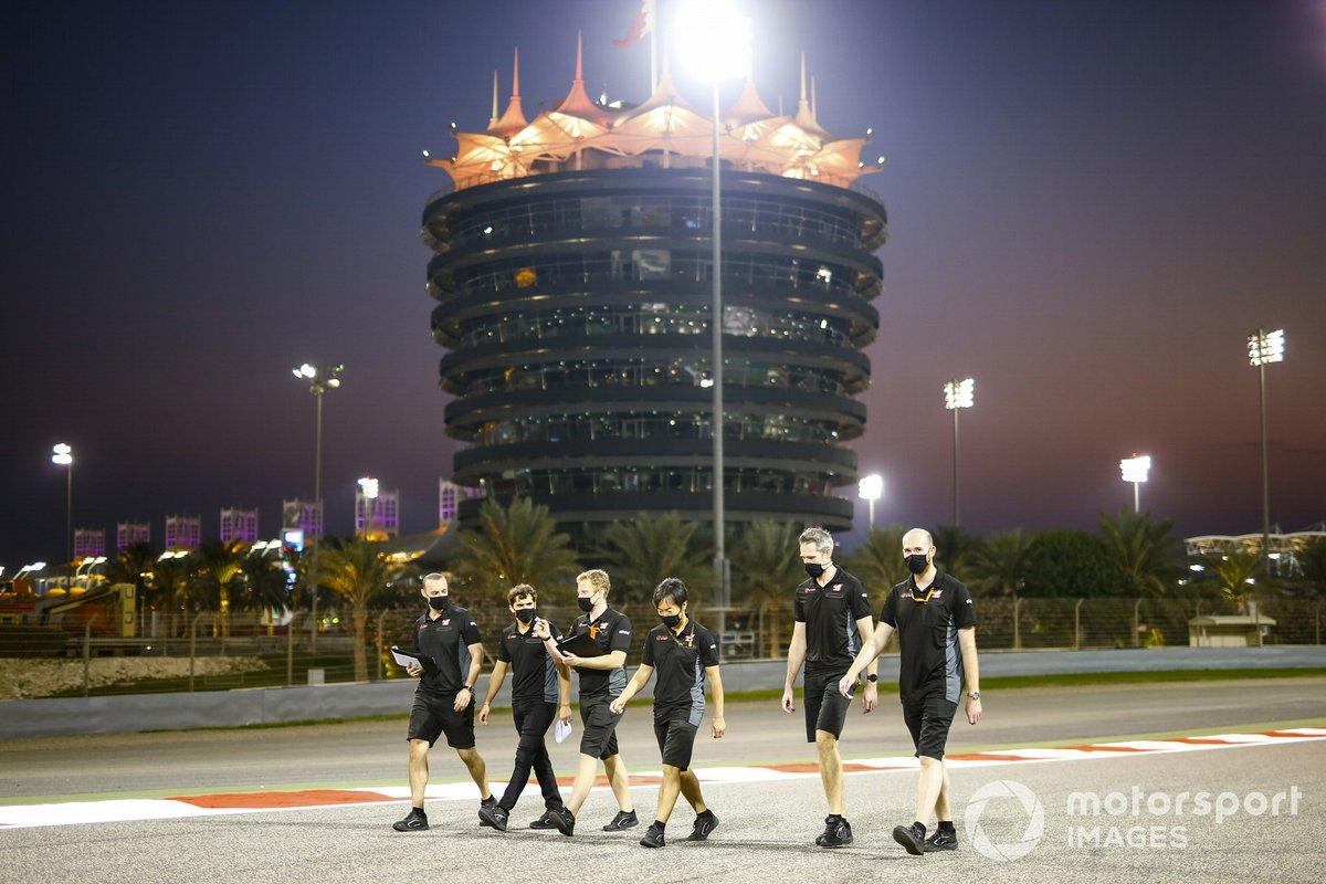 Пьетро Фиттипальди, Haas F1, прогулка по трассе