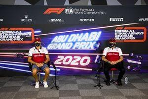 Antonio Giovinazzi, Alfa Romeo and Kimi Raikkonen, Alfa Romeo in the press conference