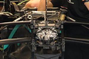 Mercedes W11 front detail