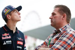 Max Verstappen, Toro Rosso and father Jos Verstappen