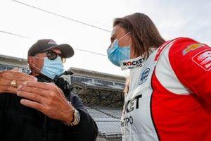 Simona DeSilvestro, Paretta Autosport Chevrolet, Rick Mears, Driving coach