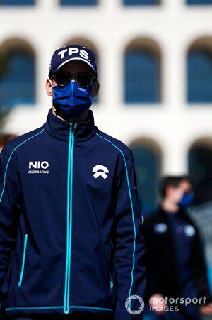 Tom Blomqvist, NIO 333, walks the track