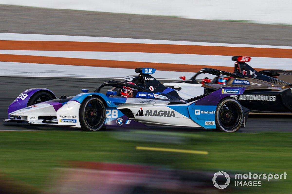 Maximilian Gunther, BMW I Andretti Motorsports, BMW iFE.21, Jean-Eric Vergne, DS Techeetah, DS E-Tense FE20