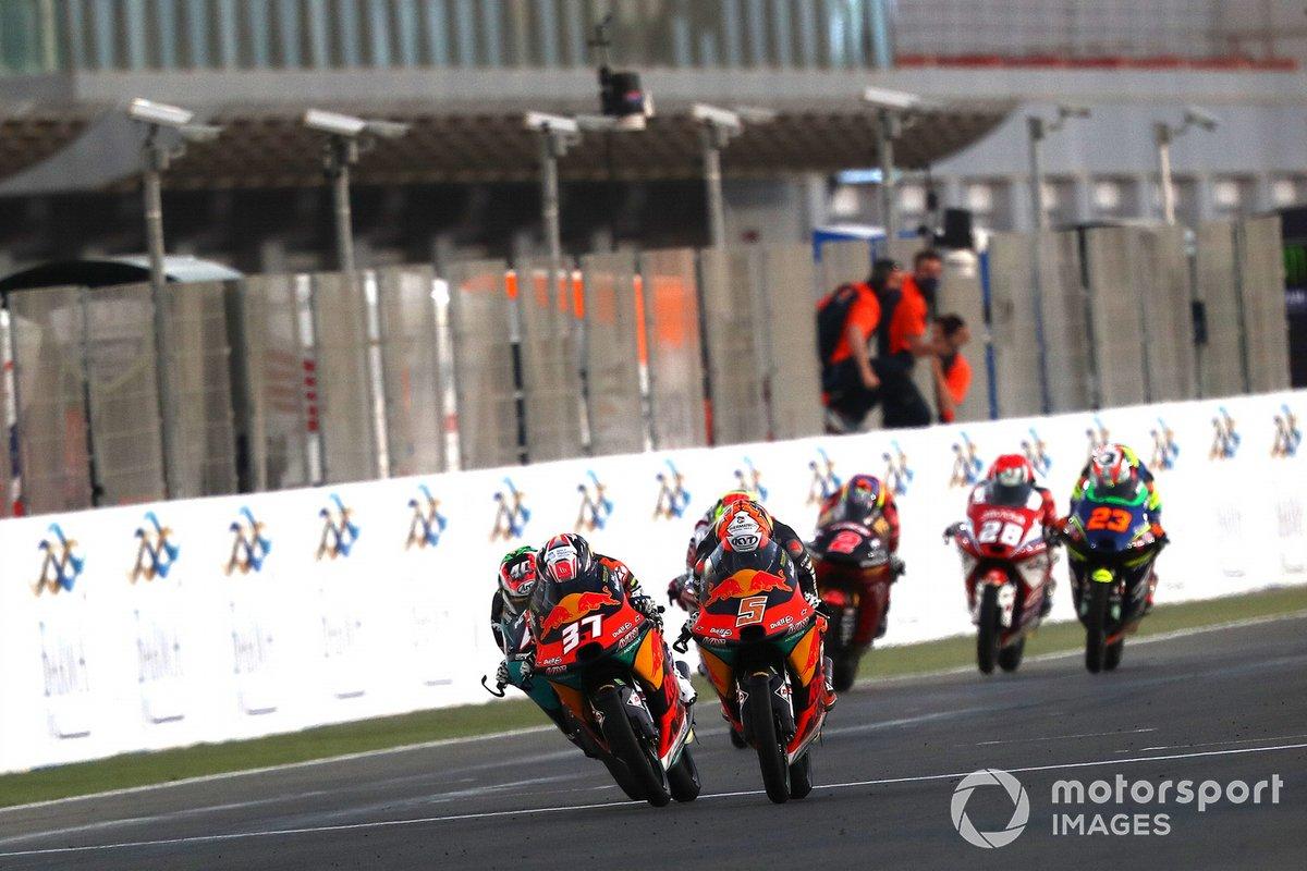 Pedro Acosta, Red Bull KTM Ajo, Jaume Masia, Red Bull KTM Ajo