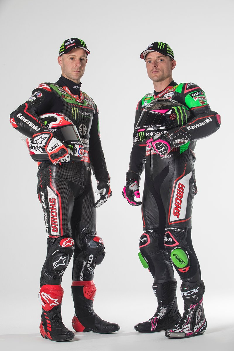 Jonathan Rea, Kawasaki Racing Team WorldSBK, Alex Lowes, Kawasaki Racing Team WorldSBK