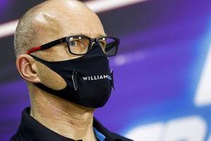 Simon Roberts, Acting Team Principal, Williams Racing en conférence de presse