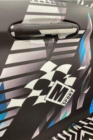 M-Sport Rally1 Hybrid Car detail