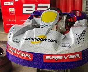 Kart equipe Motorsport ThePlayer para as 500 Milhas de Kart Granja Viana
