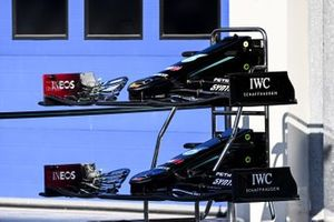 Front wing of Mercedes F1 W11