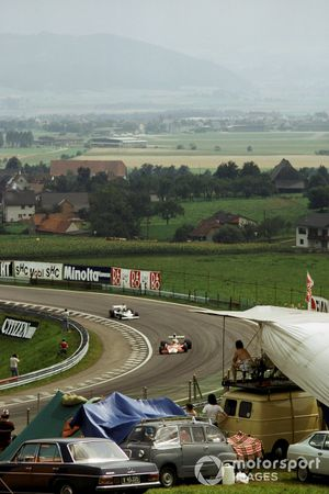 Jochen Mass, McLaren M23 Ford, Chris Amon, Ensign N175