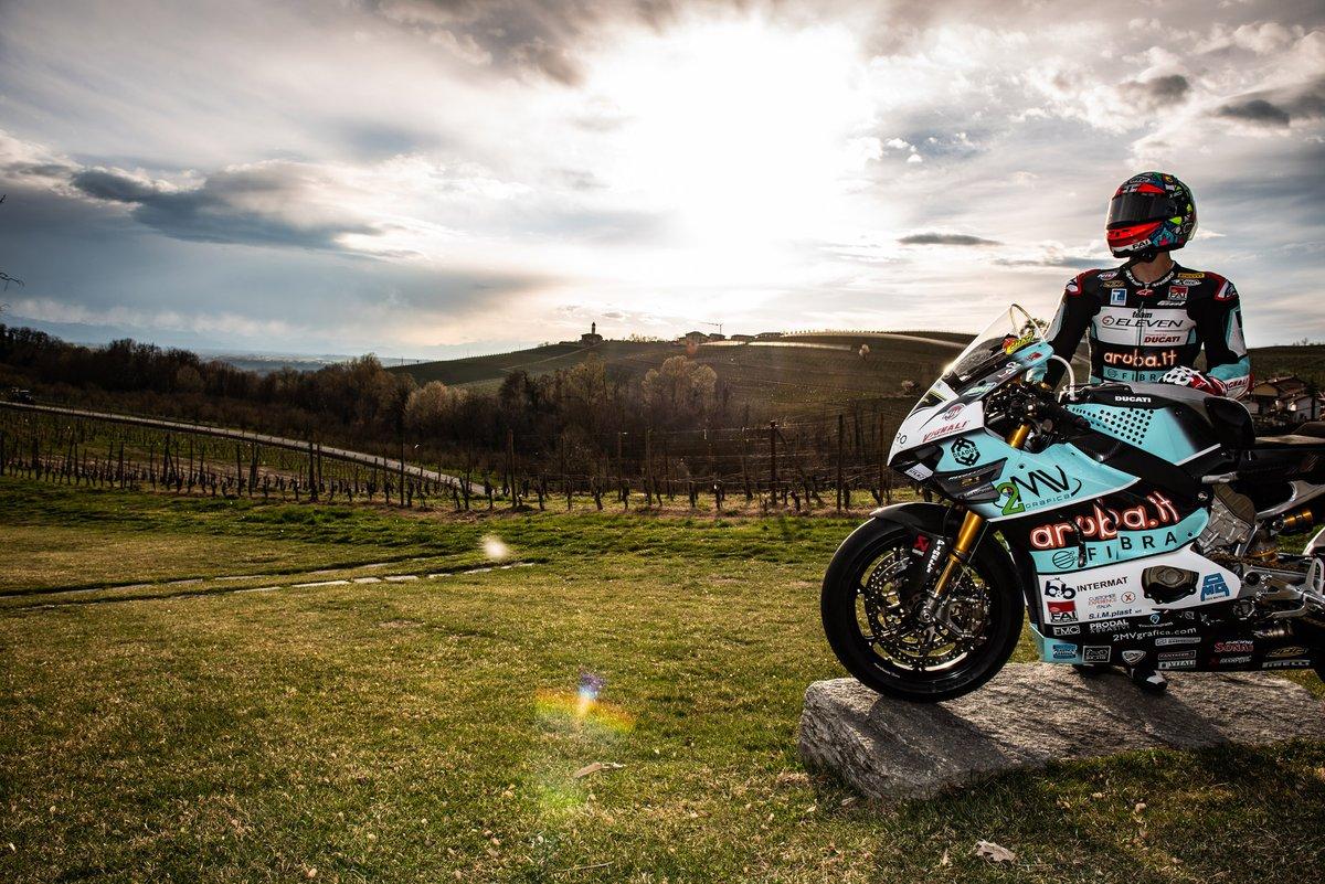 Moto di Chaz Davies, Team Go Eleven