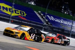 Chase Briscoe, Stewart-Haas Racing, Ford Mustang Rush Truck Centers and Aric Almirola, Stewart-Haas Racing, Ford Mustang Smithfield Anytime Favorites